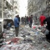 21 killed near Syria's Aleppo in airstrikes