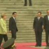 Merkel arrives in China for trade talks