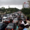 Badly Traffic Jam In Karachi Due To Vip Movement
