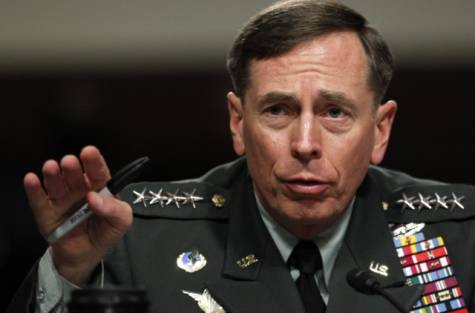 Gen. David Petraeus testifies before the Senate Armed Services Committee on Capitol Hill in Washington, in this June 29, 2012 file photo. Petraeus, the retired four-star general who led the U.S. military campaigns in Iraq and Afghanistan, resigned Friday, Nov. 9, 2012 as director of the CIA after admitting he had an extramarital affair. Courtesy Image AP