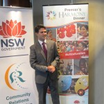 Hon Victor Dominello at the Multicultural March Ethnic Media Conference
