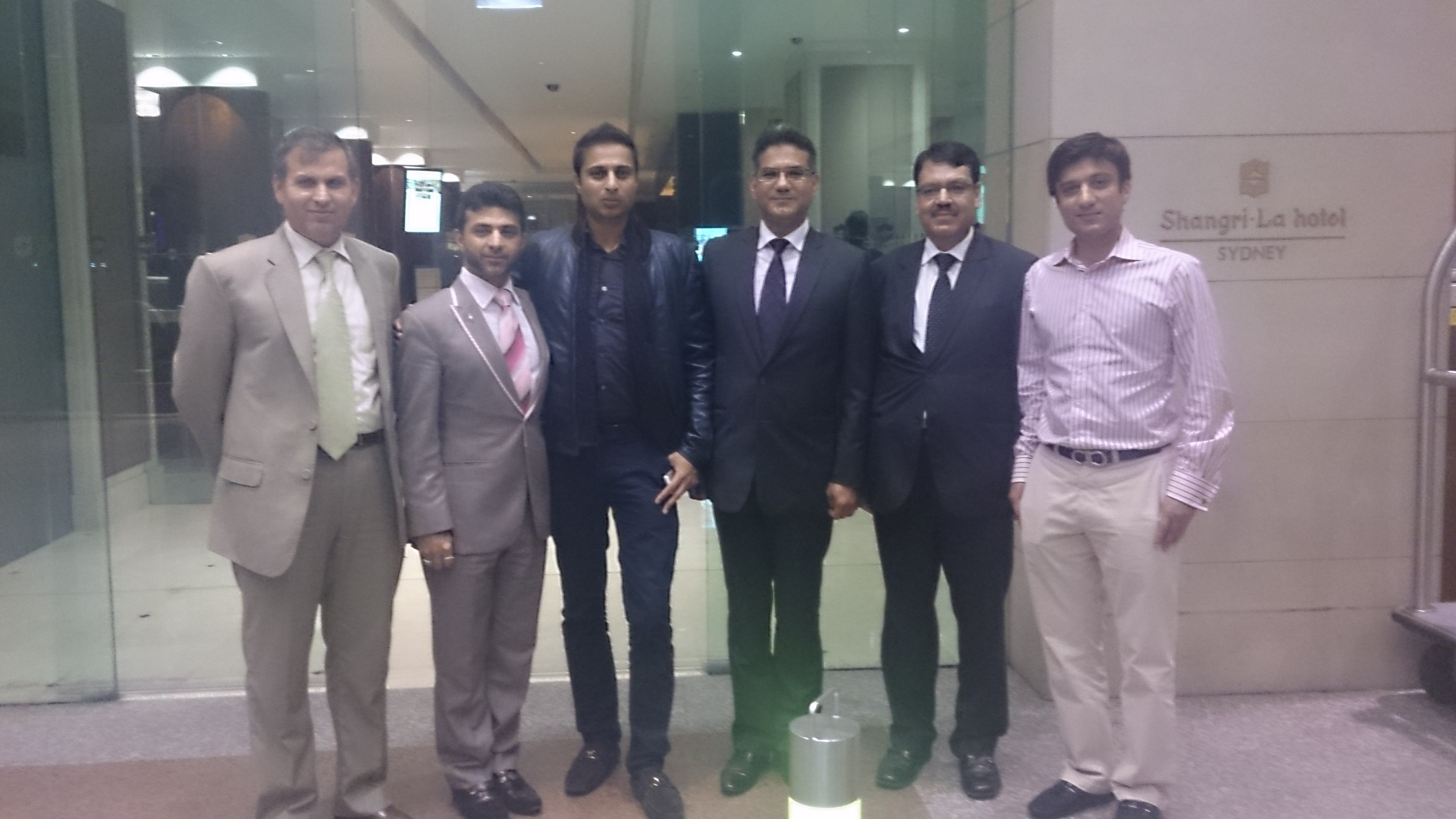 106341a3ccb86 Newly appointed Consulate Officers welcomed by Australian Pakistanis ...