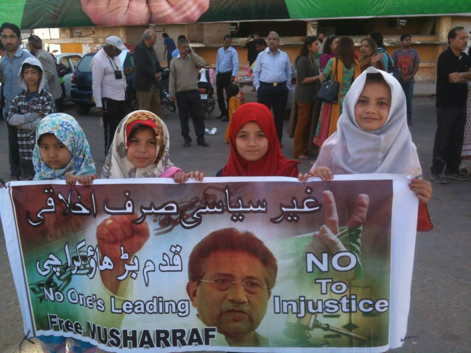 Pervez Of MusharrafTribune Protests Support International In AL5Rjq34