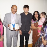 Syed Atiq ul Hassan with some family members