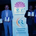 L-to-R Thamir Shamon, Syed Atiq ul Hassan, Frank Newah-Jarfoi and Joseph Tawadros