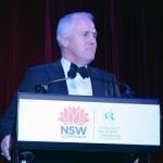 Hon Malcolm Turnbull speaking at Premier's Multicultural Dinner