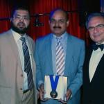 L-to-R: Munir Muhammed, Syed Atiq ul Hassan and Stepan Kerkyasharian