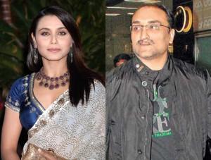Rani Mukhergi and aditya Got MArried