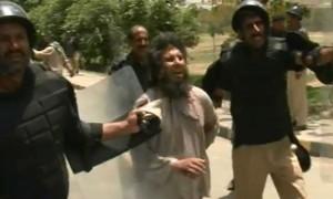 PoliCe Clash In lahOre
