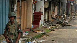 sri lankan riots