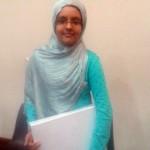 Malayeka Shabaz, winner of competition