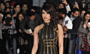 Actress Priyanka Chopra arrives for the inaugural Times of India Film Awards in Vancouver