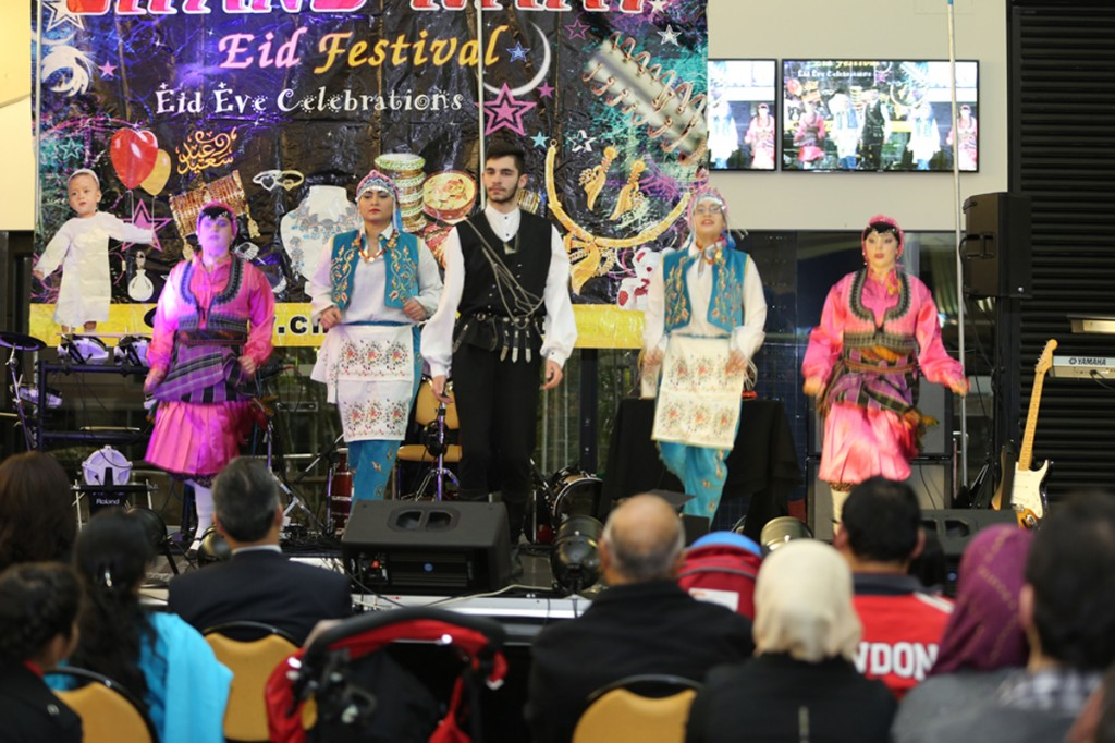 A Group of Australian Cultural Academy performing Turkish folk dance at CREF 2014