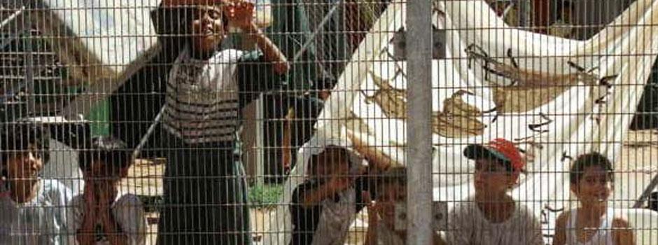 Children in detention Centres