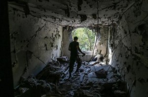 Donetsk rocked shelling