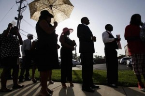Ferguson mourners