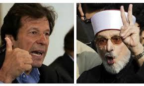 Imran and Tahir ul Qadri