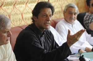 Imran khan and Javed hashmi