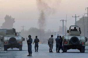 Taliban storm Afghan intelligence base