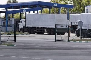 Ukraine Begins Checks on Russian Trucks