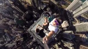 World's scariest selfie