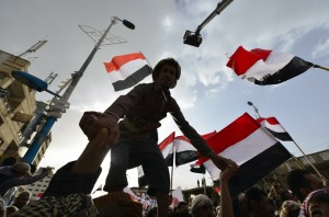 Yemen's rival protesters speak out