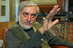 Afghanistan's Abdullah