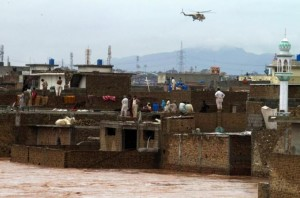 Pakistan and India hit by deadly flooding