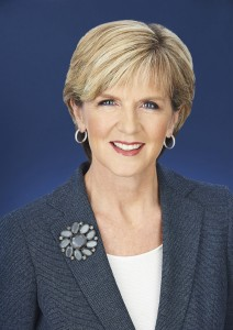 FM Julie Bishop