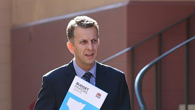 NSW Treasurer Andrew Constance
