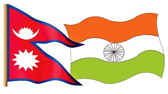 nepal-n-india-flag