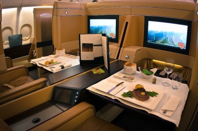 Etihad's first class suite