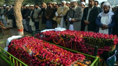 Funerals for the victims began hours after the attack on Tuesday and continued on Wednesday
