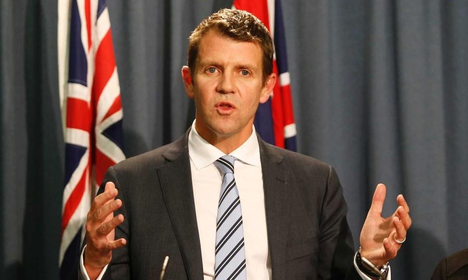 NSW Premier Mike Baird