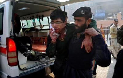 Terrorist attack in Peshawar
