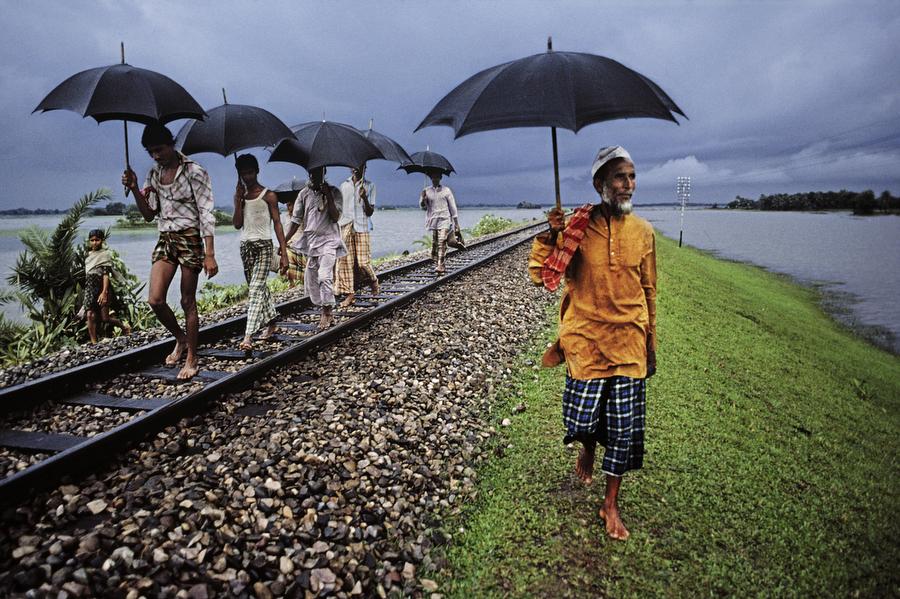 Railway track, Bangladesh, 1983