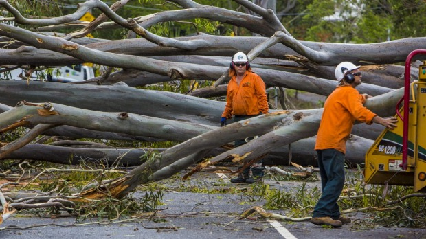 Brisbane super storm clean-up continues