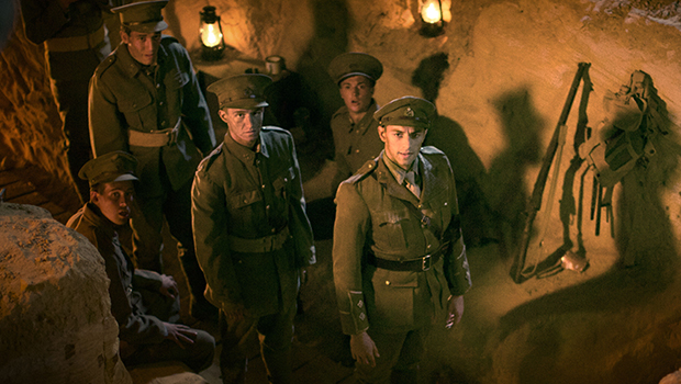Ido Drent in a scene from When We Went to War.