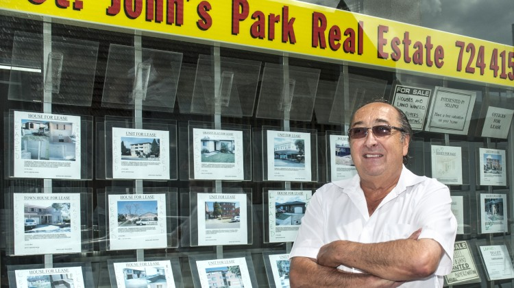 Stephen Colagiuri from St Johns Park Real Estate, Fairfield City Centre.