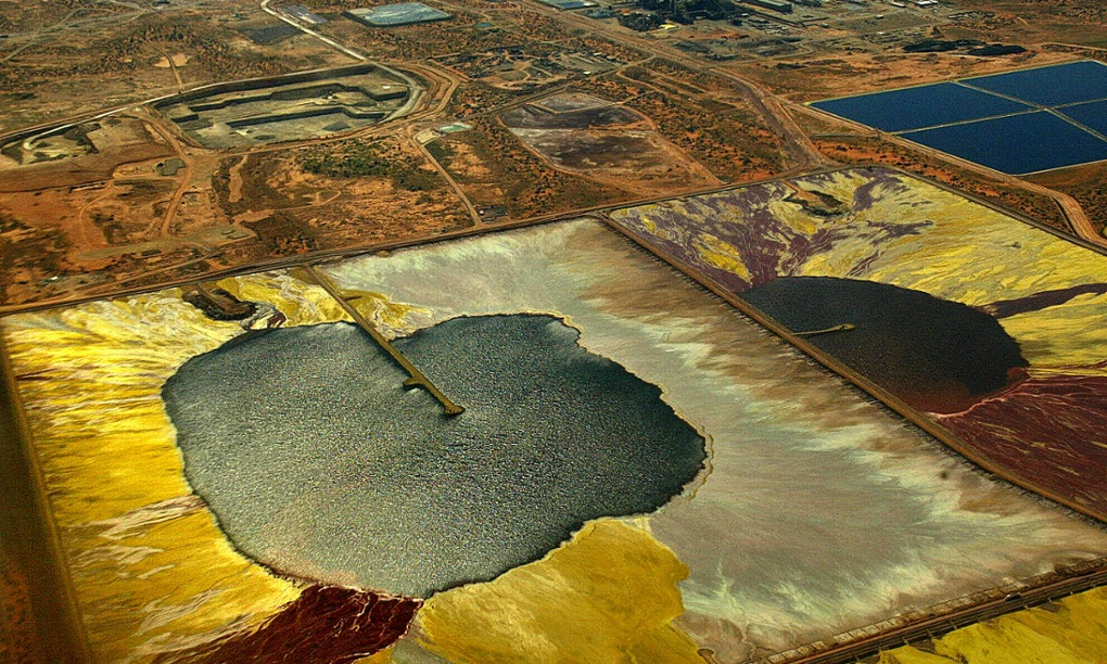 A uranium mine in outback South Australia. Photograph: Colin Murty/AFP/Getty Images