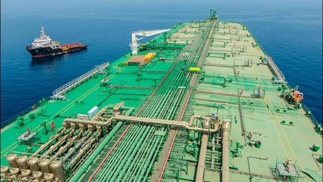 Iran's Persian Gulf floating oil storage unit