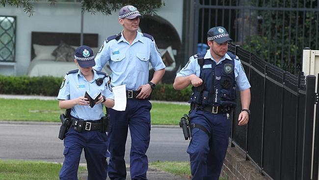 Aus police