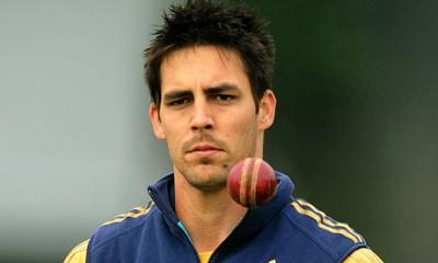 Australia's Mitchell Johnson. Photo Rui Vieira PA
