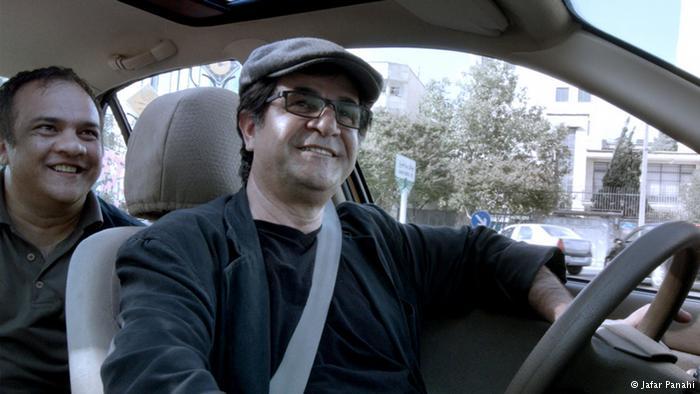 Filmmaker Jafar Panahi is a taxi driver in Taxi