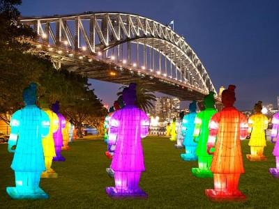 Lanterns of Terracotta Warriors Exhibition2