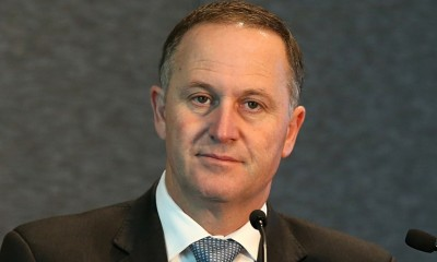 New Zealand's Prime Minister John Key. Photograph: Fiona Goodall/Getty Images