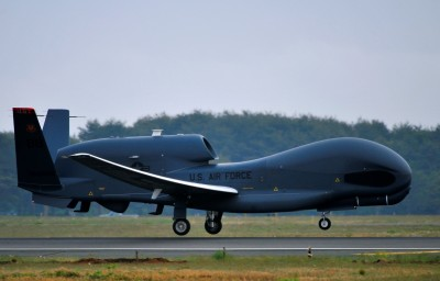 Northrop Grumman RQ-4 Global Hawk (U.S. Air Force photo/Staff Sgt. Nathan Lipscomb)