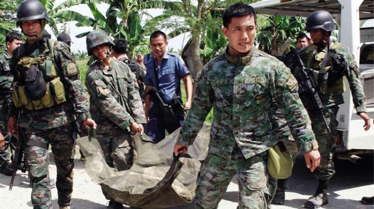Phillipino killed with Islamic fighters