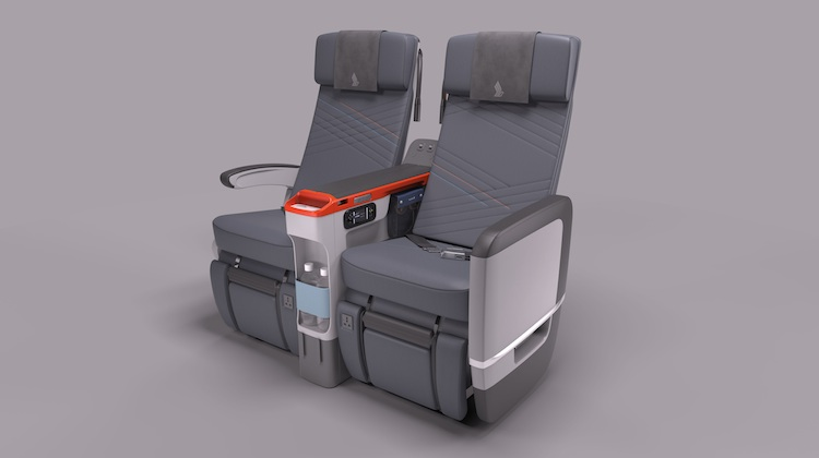 Singapore Airline's premium economy seats