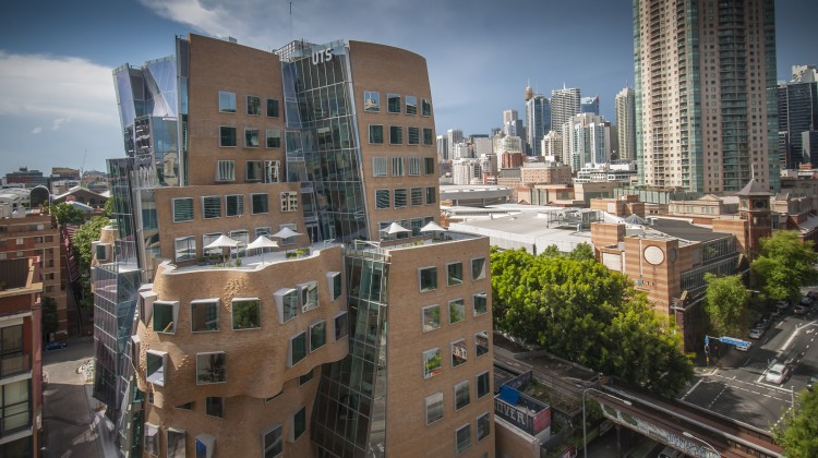The $180 million Dr Chau Chak Wing Building at Sydney's UTS. Photo by Andrew Worssam